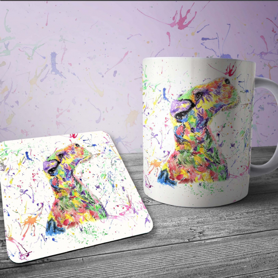 Mug and coaster set (WFT)